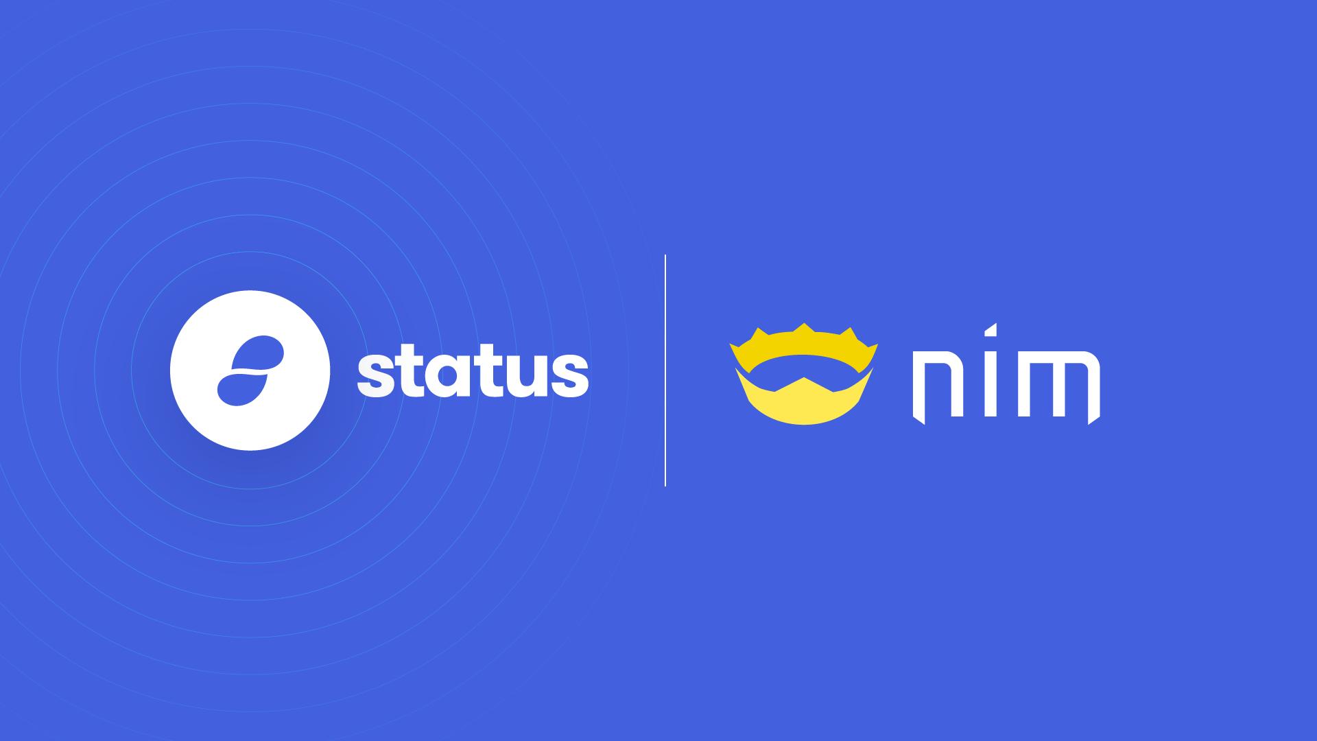 Status + Nim